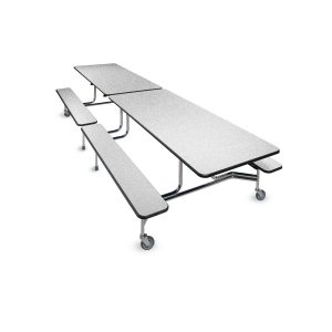 Rectangular Table - bench seating